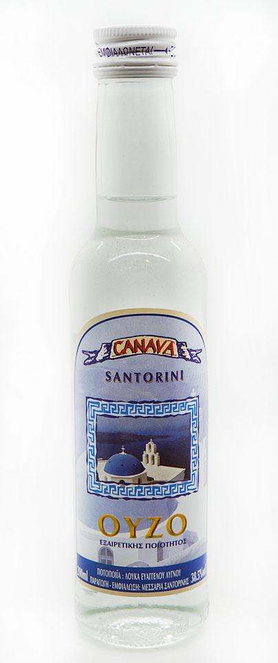 Ούζο-Canava Santorini